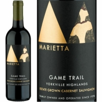 Marietta Cellars Game Trail Yorkville Highlands Cabernet 2014 Rated 93WA