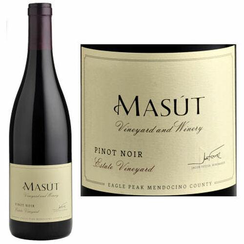 Masut Estate Eagle Peak Mendocino Pinot Noir 2016 Rated 92WE EDITORS CHOICE