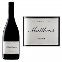 Matthews Columbia Valley Syrah 2011 Rated 93WS