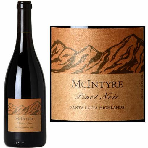 McIntyre Santa Lucia Highlands Pinot Noir 2017 Rated 93WE EDITORS CHOICE