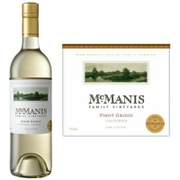 McManis Family California Pinot Grigio 2015