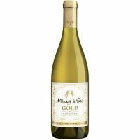 Menage a Trois California Gold Chardonnay 2015