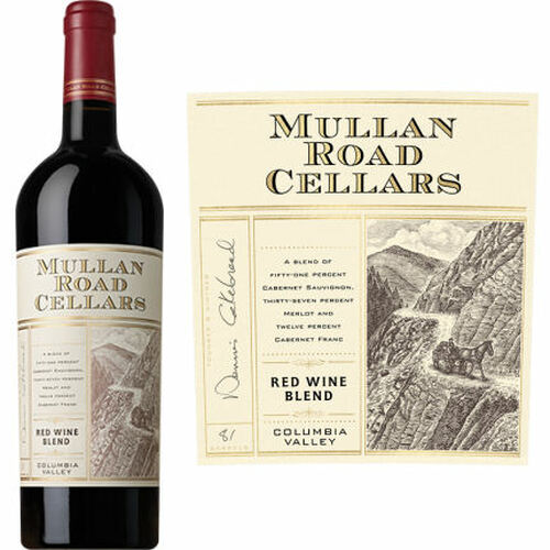 Mullan Road by Cakebread Columbia Valley Red Wine Washington 2016 Rated 91JD
