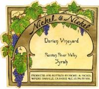 Nickel & Nickel Darien Vineyard Syrah 2013