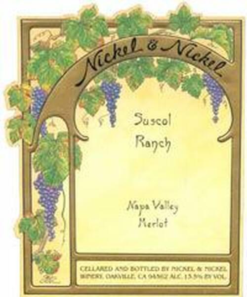 Nickel & Nickel Suscol Ranch Napa Merlot 2017