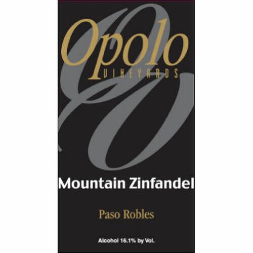 Opolo Mountain Zinfandel 2018