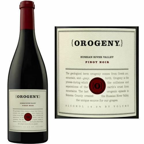 Orogeny Vineyards Russian River Pinot Noir 2016