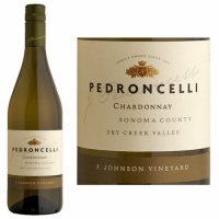 Pedroncelli Frank Johnson Vineyard Dry Creek Chardonnay 2015