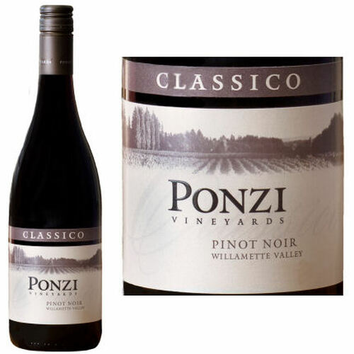 Ponzi Vineyards Classico Willamette Pinot Noir 2016 Rated 92WS