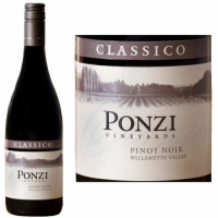 Ponzi Vineyards Classico Willamette Pinot Noir 2014 Rated 92WE EDITORS CHOICE