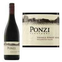 Ponzi Willamette Tavola Pinot Noir 2015 Rated 91W&S
