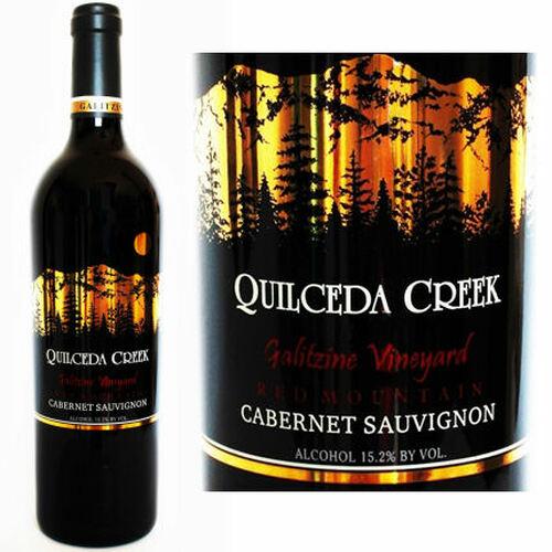 Quilceda Creek Galitzine Vineyard Red Mountain Cabernet 2013 Rated 98WA