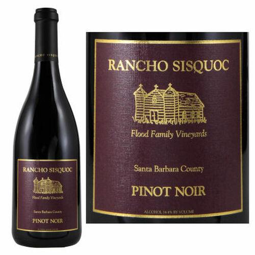 Rancho Sisquoc Santa Barbara Pinot Noir 2017