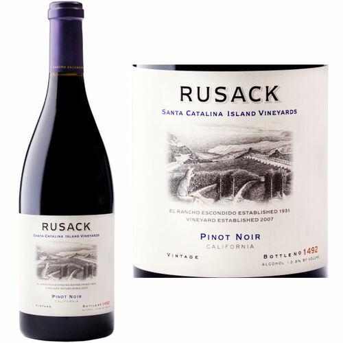 Rusack Santa Catalina Island Pinot Noir 2016 Rated 93WA