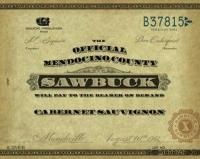 Sawbuck California Cabernet 2017