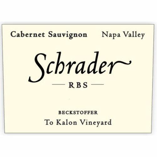 Schrader RBS Beckstoffer To Kalon Napa Cabernet 2016 Rated 97+WA