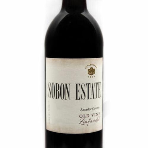 Sobon Estate Amador County Old Vine Zinfandel 2019