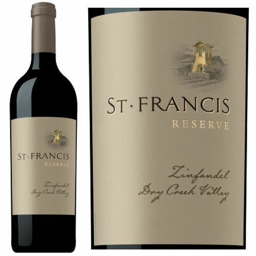 St. Francis Reserve Dry Creek Zinfandel 2014 Rated 93TP