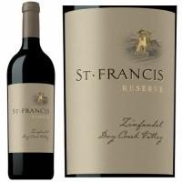 St. Francis Reserve Dry Creek Zinfandel 2012 Rated 93WA