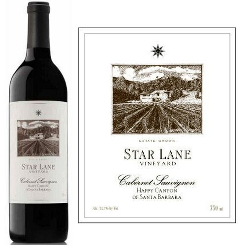 Star Lane Vineyard Happy Canyon of Santa Barbara Cabernet 2016 Rated 92WE