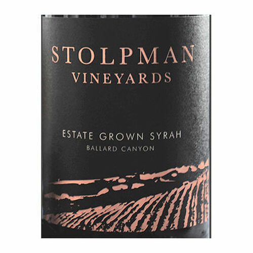 Stolpman Estate Ballard Canyon Syrah 2018 Rated 94VM