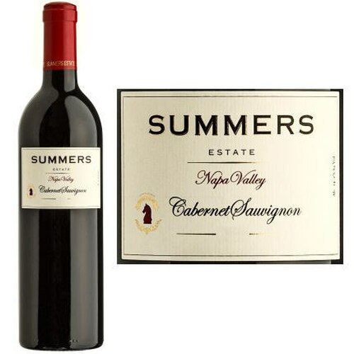 Summers Estate Napa Cabernet 2016 Rated 92WS