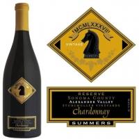 Summers Reserve Stuhlmuller Vineyards Alexander Chardonnay 2014