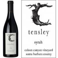 Tensley Colson Canyon Vineyard Santa Barbara Syrah 2015 Rated 994-97VM