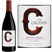 The Crusher California Petite Sirah 2014 Rated 90 GOLD MEDAL