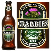 Crabbie's Original Alcoholic Ginger Beer (Scotland) 16oz