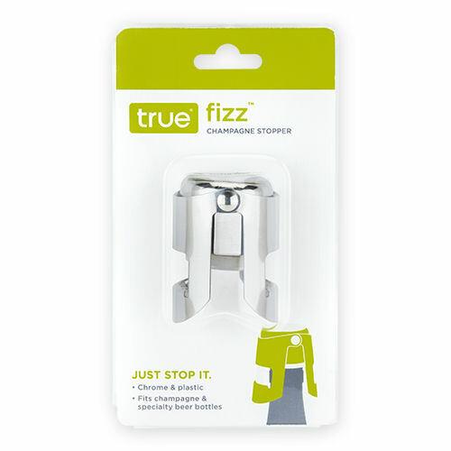 True Fizz Chrome Champagne Stopper