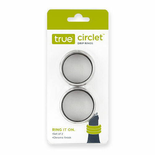 True Circlet Silver Drip Ring