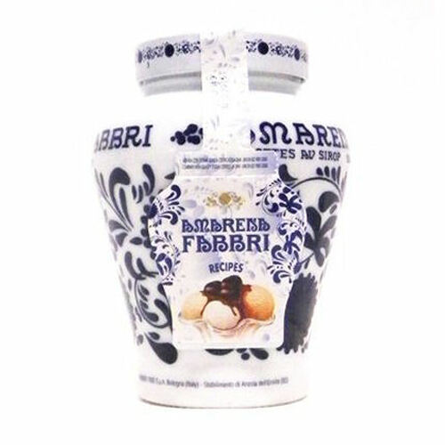 Fabbri Amarena Cherries in Syrup - 21oz Decorated Jar