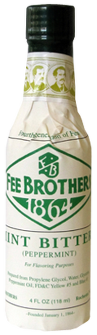 Fee Brothers Mint Bitters 5oz.
