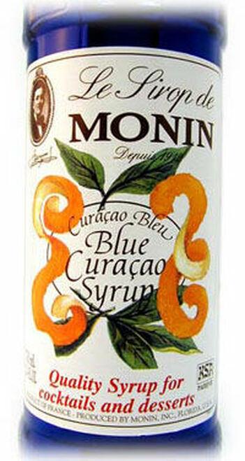 Monin Blue Curacao Syrup 1L