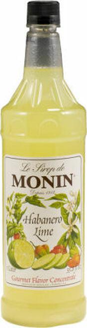 Monin Habanero Lime Syrup 1L