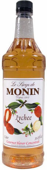 Monin Lychee Syrup 1L