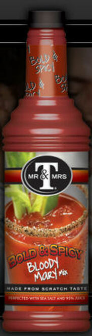 Mr. & Mrs. T's Bold & Spicy Bloody Mary Mix 1L
