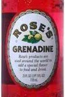 Rose's Grenadine 1L