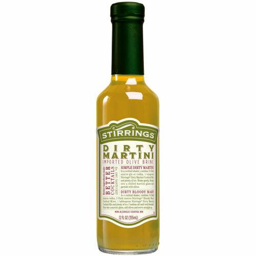 Stirrings Dirty Martini Cocktail Mixer 12oz