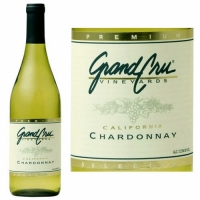 12 Bottle Case Grand Cru California Chardonnay 2015