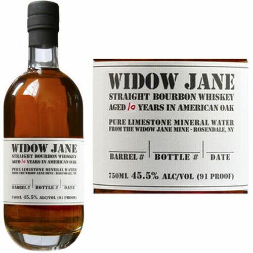 Widow Jane 10 Year Old Straight Bourbon Whiskey 750ml
