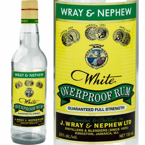 Wray & Nephew White Overproof Jamaica Rum 750ml