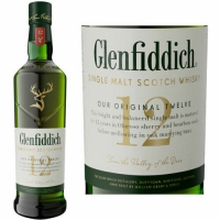 Glenfiddich Signature 12 Year Old Speyside Single Malt Scotch 750ml
