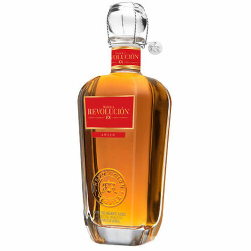 Tequila Revolucion Anejo 750ml