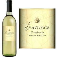 12 Bottle Case Sea Ridge California Pinot Grigio 2015