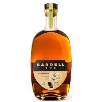 Barrell Rye Batch 001 Cask Strength Rye Whiskey 750ml
