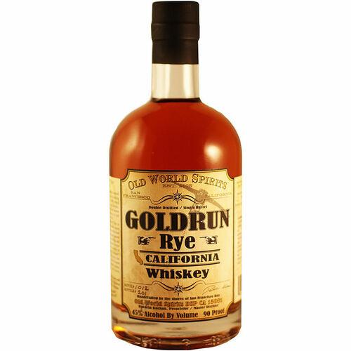 Gold Run Rye California Whiskey 750ml