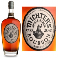 Michter's 20 Year Old Single Barrel Bourbon Whiskey 750ml
