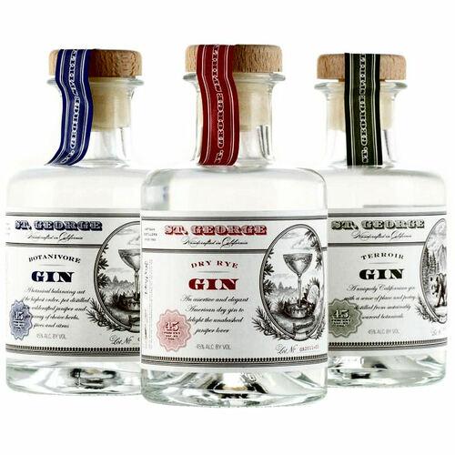 St George Gin Combo Pack 3-200ml Bottles